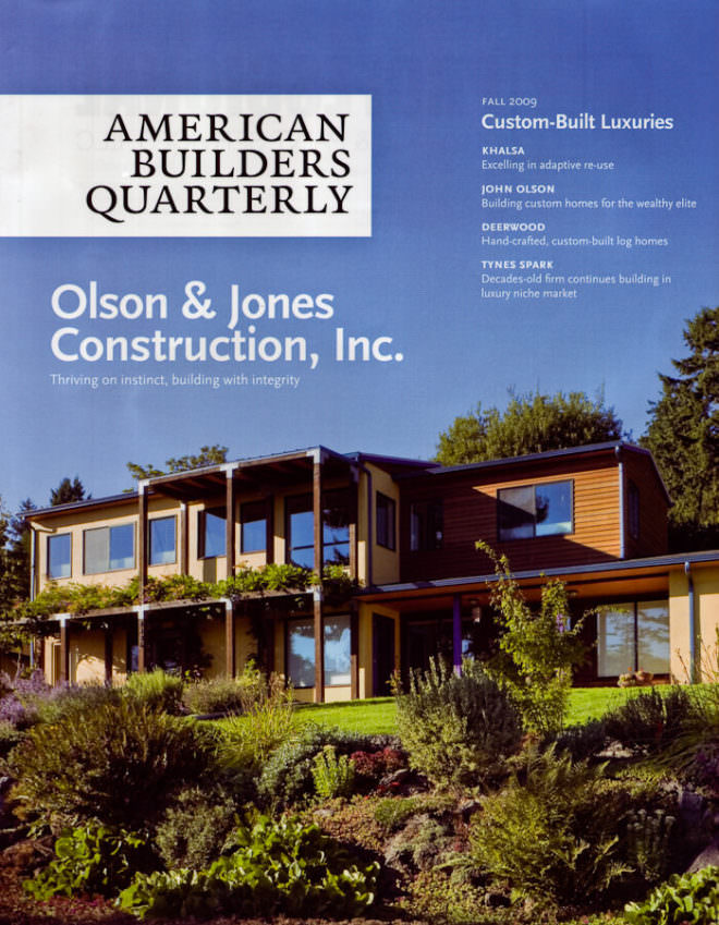 American Builders Quarterly (Fall 2009) p.1