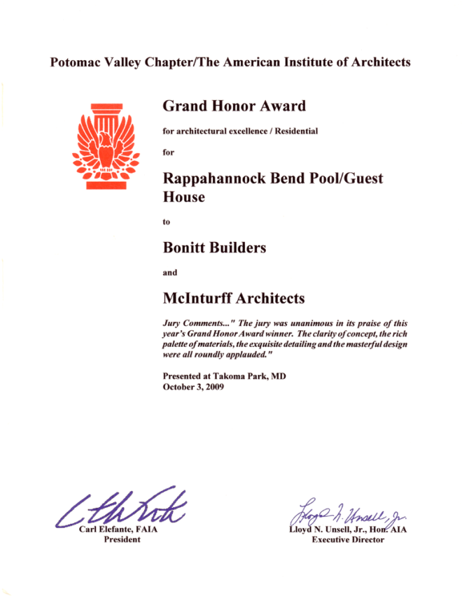 Grand Honor Award